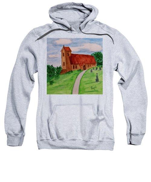 English Country Church Sweatshirt