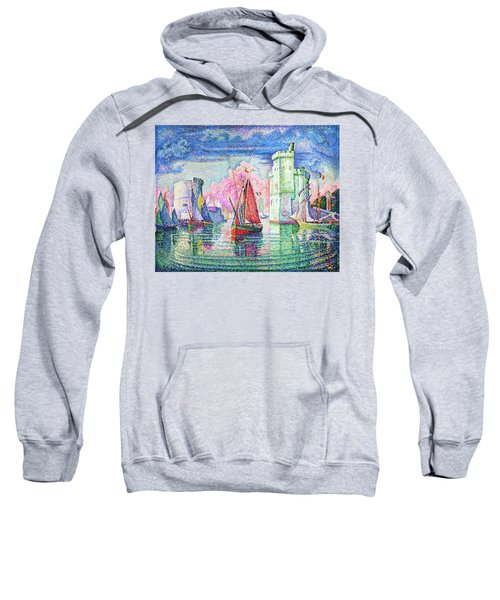 Entrance To The Port Of La Rochelle - Digital Remastered Edition Sweatshirt