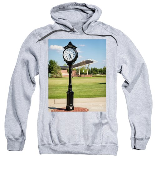 Evans Towne Center Park Clock - Columbia County Ga Sweatshirt