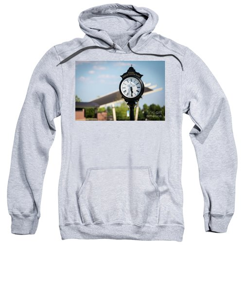 Evans Towne Center Park Clock - Evans Ga Sweatshirt