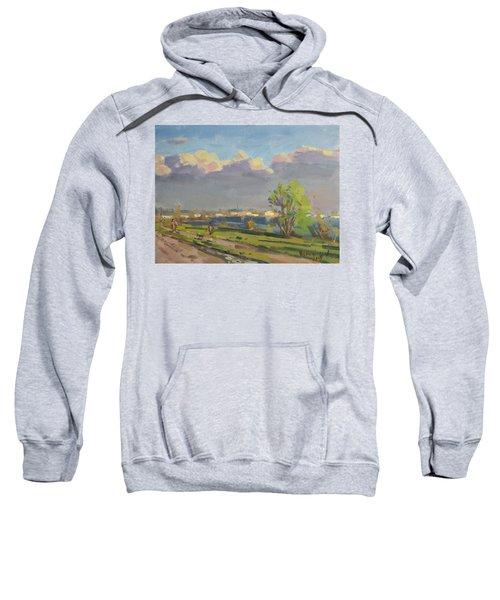 Evening At Gratwick Waterfront Park Sweatshirt