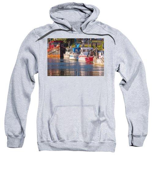 Evening At The Harbor Sweatshirt