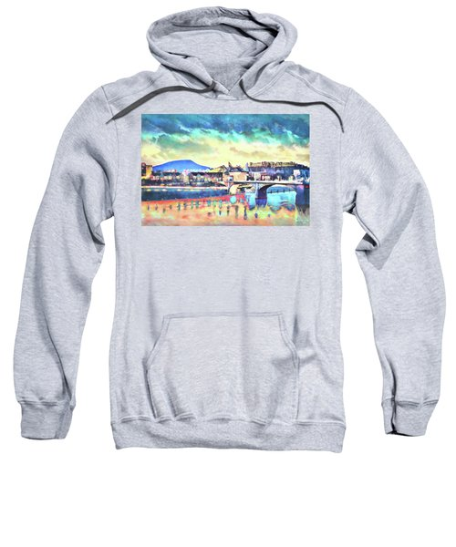 Evening Glow After The Storm Sweatshirt