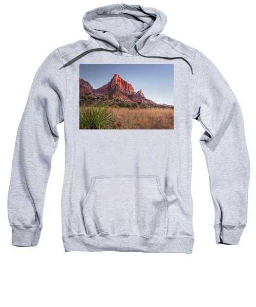 Evening Vista At Zion Sweatshirt