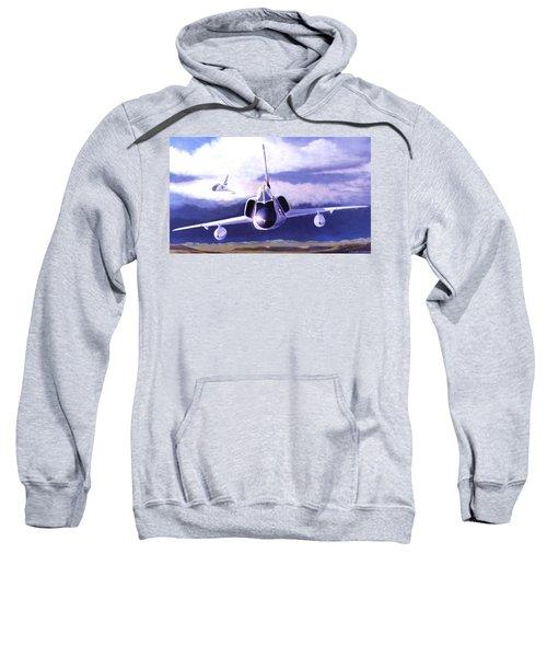 F-106a Head-on Sweatshirt