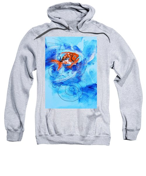 Fake Nemo Fish Sweatshirt