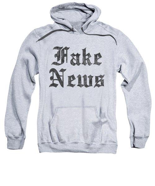 Fake News Vintage Sweatshirt