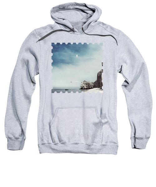 Falaise D'amont - Etretat - France Sweatshirt