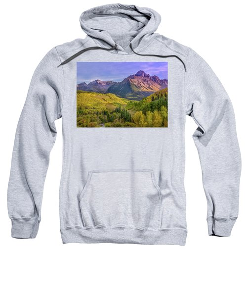 Fall Color In The San Juan Mountains Sweatshirt