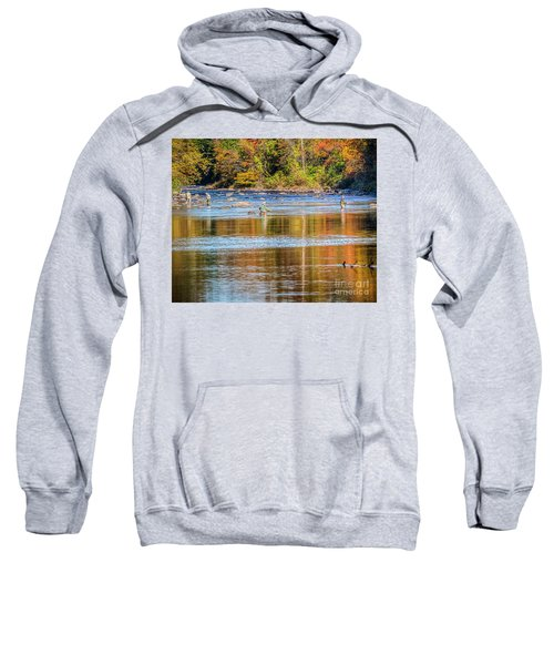 Fall Fishing Reflections Sweatshirt