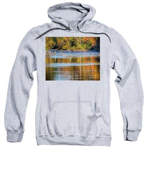 Fall Fishing Reflections Sweatshirt