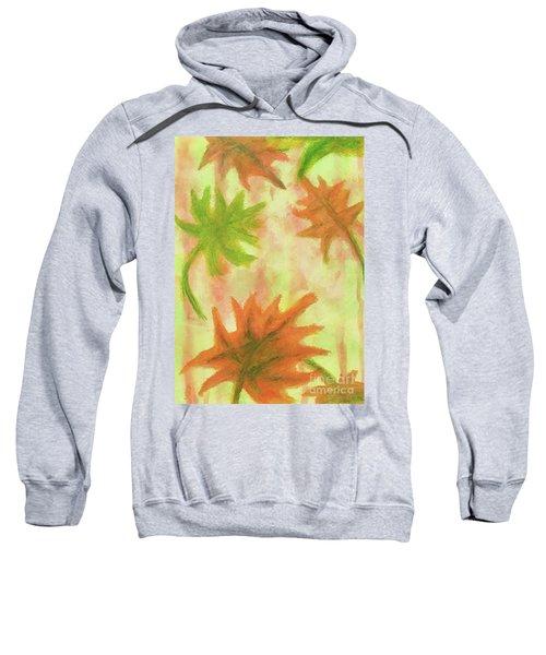 Fanciful Fall Leaves Sweatshirt