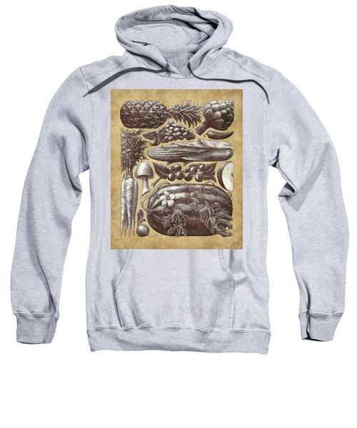Farmer's Market - Sepia Sweatshirt