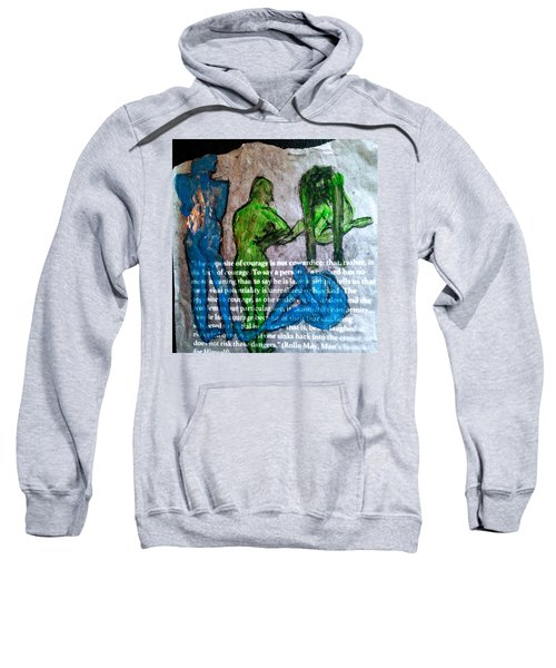 Fear Of The Inexplicable Sweatshirt