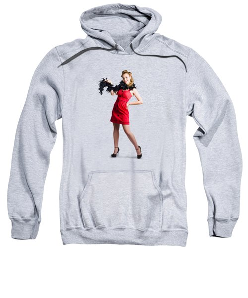 Female Cabaret Performer Sweatshirt