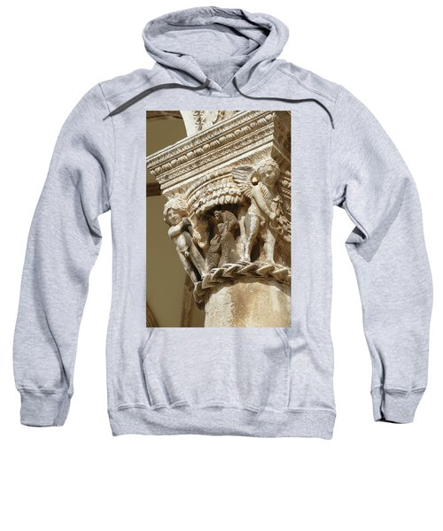Figures On Capitals Of The Rector's Palace Sweatshirt