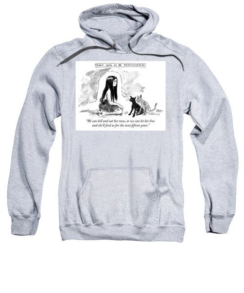 First Cats To Be Domesticated Sweatshirt