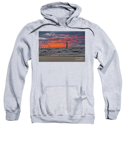 First Day Of Fall Sunset Sweatshirt