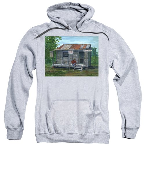 Fish Store, Natchitoches Parish, Louisiana Sweatshirt
