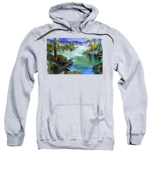 Fishing Lake Tahoe Sweatshirt