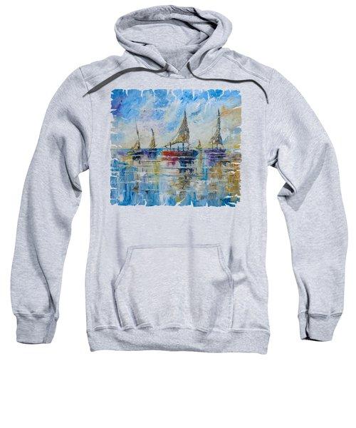 Five Boats Sweatshirt