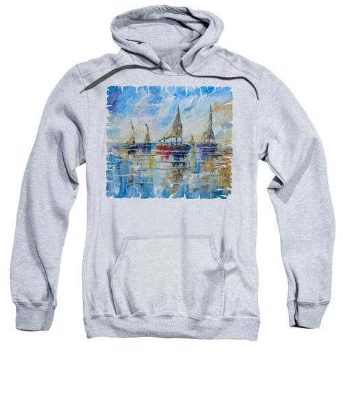 Five Boats Sweatshirt