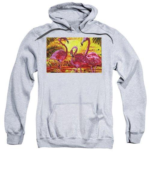Flamingo Sunset Sweatshirt