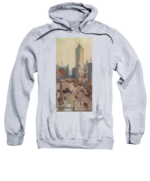 Flat Iron Building Sweatshirt