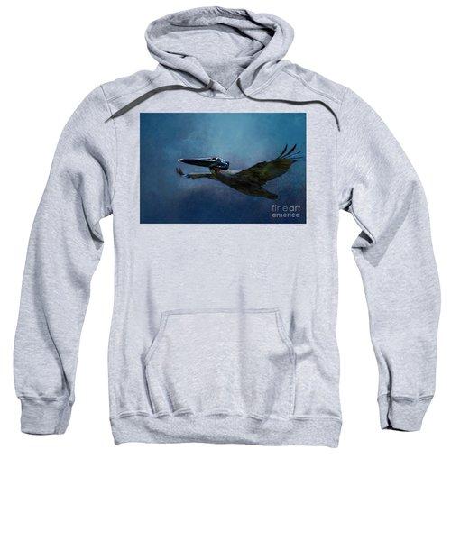 Flight Of The Pelican Sweatshirt