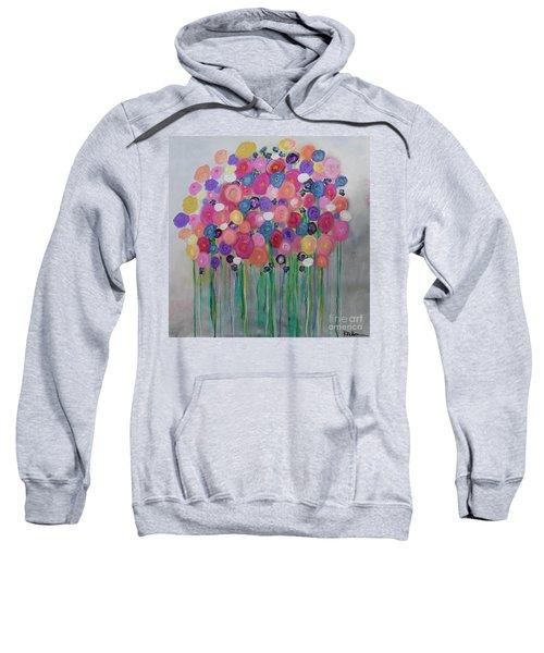 Floral Balloon Bouquet Sweatshirt