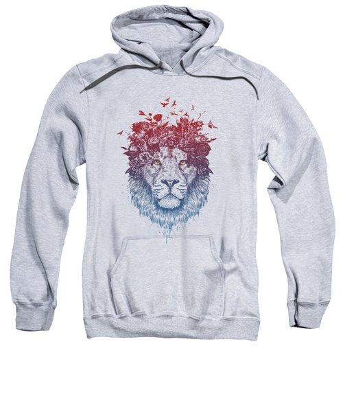 Floral Lion IIi Sweatshirt