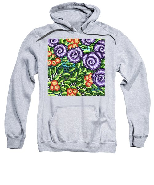 Floral Whimsy 11 Sweatshirt