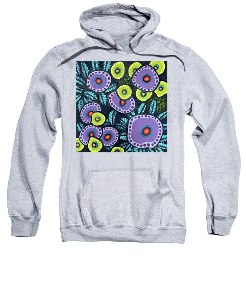 Floral Whimsy 12 Sweatshirt