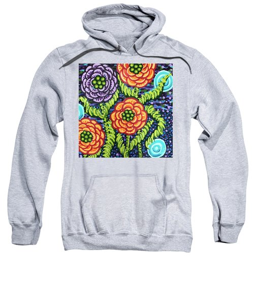 Floral Whimsy 5 Sweatshirt