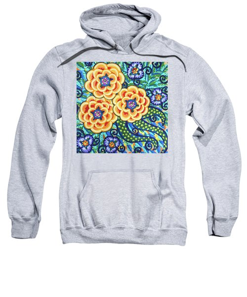 Floral Whimsy 9 Sweatshirt