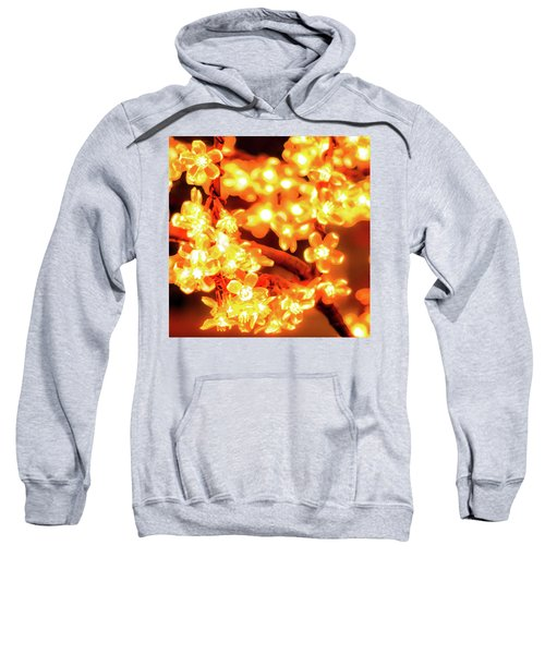 Flower Lights 5 Sweatshirt