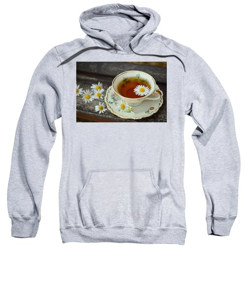 Flower Tea Sweatshirt