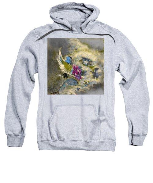 Flowers In A Storm  Sweatshirt