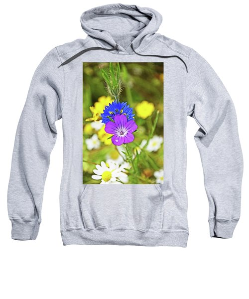 Flowers In The Meadow. Sweatshirt