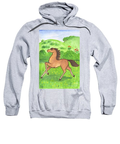 Foal In The Meadow Sweatshirt