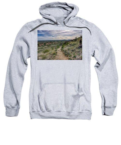 Following The Desert Path Sweatshirt