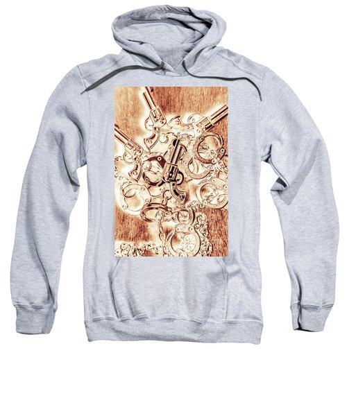 Fom An Old Western Sweatshirt