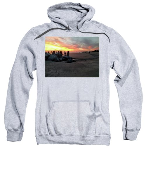 Fort Moultrie Sunset Sweatshirt