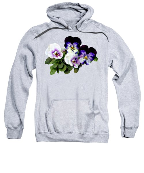 Four Pansies Sweatshirt