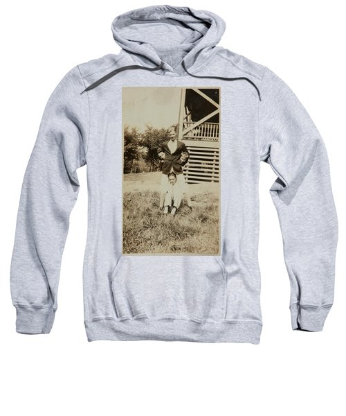 Four Young Men  Ca  1920 Gelatin Silver Print Sweatshirt