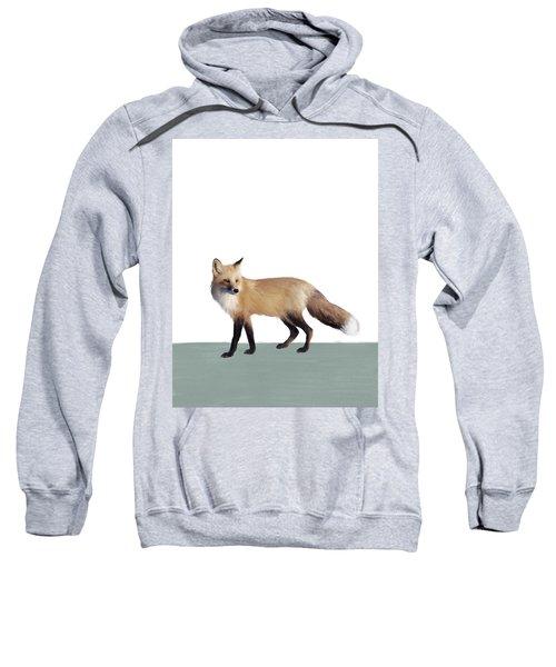Fox On Sage Sweatshirt