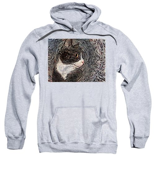Franklyn The Tuxedo Cat Sweatshirt