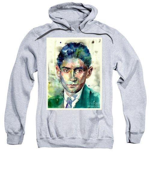 Franz Kafka Portrait Sweatshirt