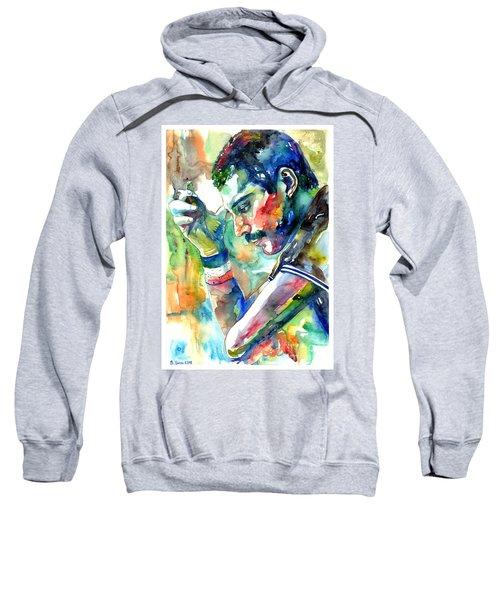 Freddie Mercury With Cigarette Sweatshirt