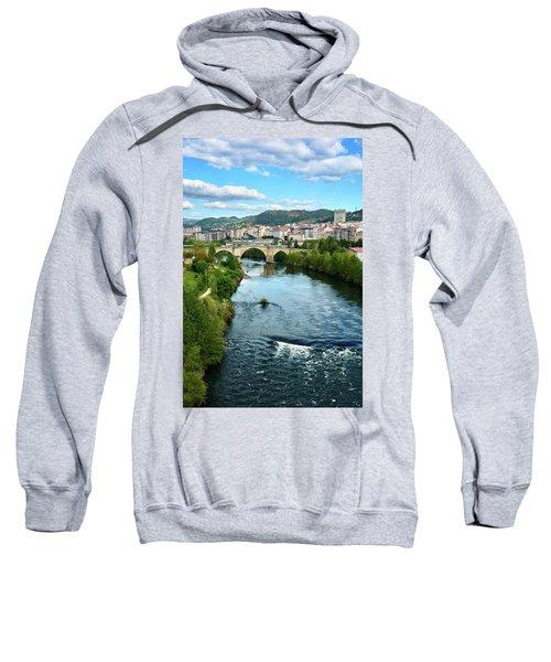 From The Top Of The Millennium Bridge Sweatshirt